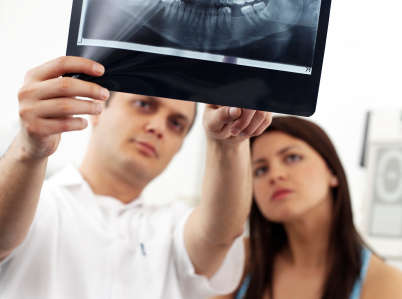 Bone grafting to improve dental implant treatment by our dentists in Birmingham