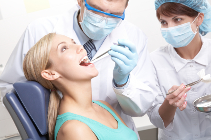Gum disease can be helped by periodontal treatment from our Birmingham Dentists