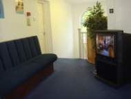 The upstairs waiting area of the Scott Arms Dental Practice in Birmingham