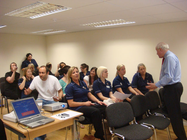 We regularly have guest speakers at the Scott Arms Dental practice to help develop the skills of our team