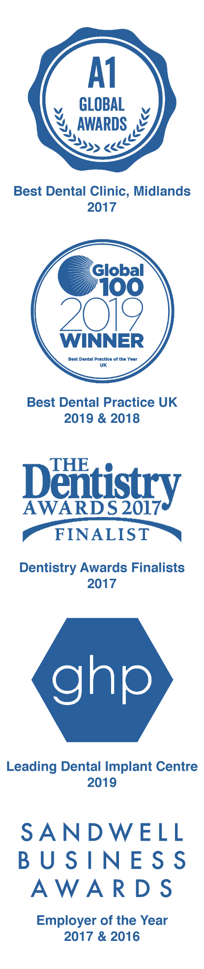 Scott arms dental award